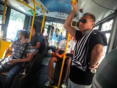 gsp, autobus, vrućina, leto, lepo vreme, vrućine, temperatura