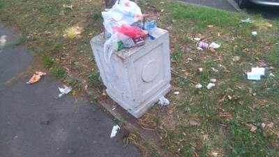 đubre, djubre, smeće, kanta za đubre, kanta za djubre, prljavština, nečistoća