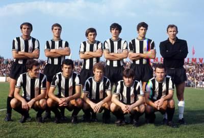 Partizan, tim Partizana iz 1970.