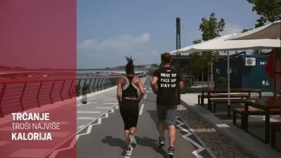 Mondo fitnes, fintes, trčanje, džoging, vežbe