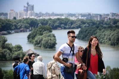 ušće, reka, sava dunav, turisti, beograd, kalemegdan, ljudi, turizam,