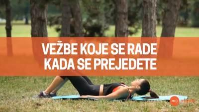 Mondo fitnes, vežbe posle jela
