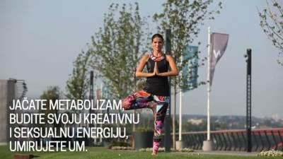 MONDO Fitnes, joga, Nataša Vukoje, vežbe