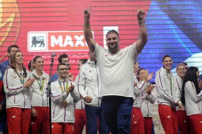 dejan savić, doček olimpijaca skupština, olimpijske igre rio 2016, sportisti, srbija, doček sportista