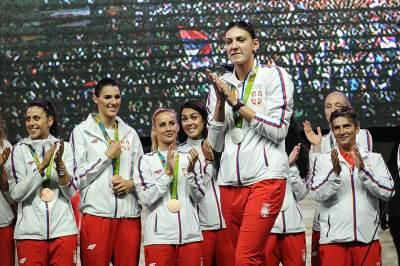 tijana bošković, doček olimpijaca skupština, olimpijske igre rio 2016, sportisti, srbija, doček sportista