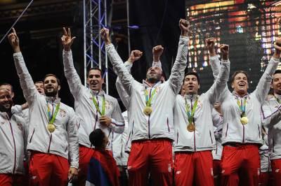 vaterpolisti, gocić, jakšić, filipović, doček olimpijaca skupština, olimpijske igre rio 2016, sportisti, srbija, doček sportista