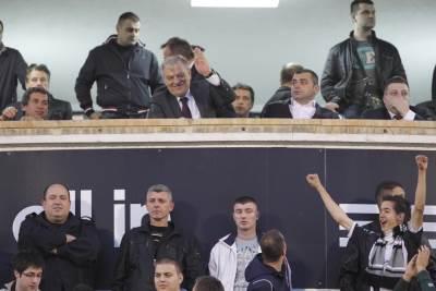 Tomislav Karadžić, Partizan, uprava Partizana, Tole Karadžić