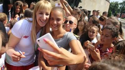Prijem olimpijki kod Milorada Dodika, olimpijke, Milorad Dodik