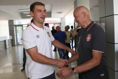 Reprezentacija Srbije, fudbal, okupljanje, kovilovo