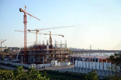 beograd na vodi, pristanište, promenada, radovi, izgradnja, dizalica,
