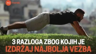 MONDO fitnes, vežbe, vežbanje, izdržaj