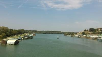 Sava, reka Sava, Ušće, Kalemegdan, reka