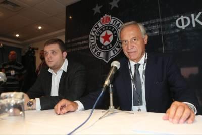 Skupština Partizana, Zemunelo, Partizan