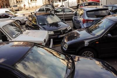 parkiranje kneza miloša, parking kneza miloša, automobil, automobili, trotoar,