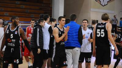 Partizan Vanja Marinković Frenk Robinson Stefan Pot