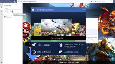 Facebook GameRoom, Facebook,GameRoom