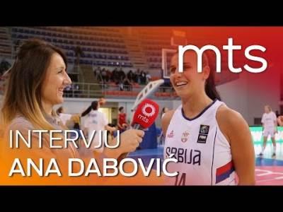 Ana Dabović intervju za mts