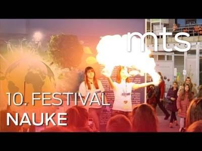 mts na desetom Festivalu nauke - FN 10