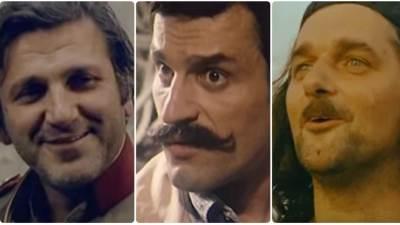 Bata Živojinović, Dragan Nikolić, Milorad Mandić Manda