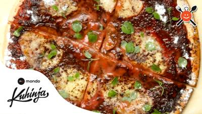 mondo kuhinja, hrana, slatka pizza, pica, slatka pica