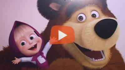 Maša i medved, crtani film, mondo tv