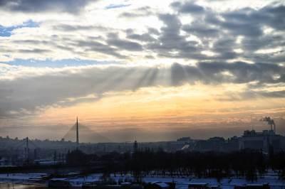 beograd, nebo, oblaci, zalazak sunca, most na adi, most, mostovi, zima, sneg, vreme, grad, kalemegdan, padavine, mećava, hladno