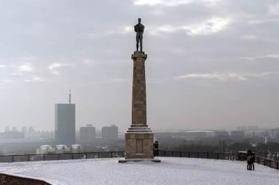 beograd, pobednik, zima, sneg, vreme, grad, kalemegdan, padavine, mećava, hladno