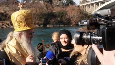 plivanje za krst Amfilohije