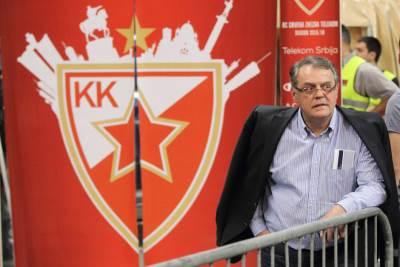 Nebojša Čović Crvena zvezda