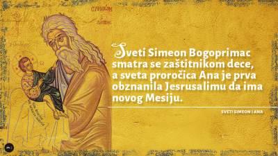 sveti simeon bogoprimac i proročica ana