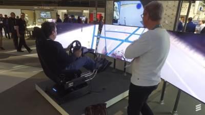 Ericsson 5G mreža vožnja automobila na daljinu MWC 2017
