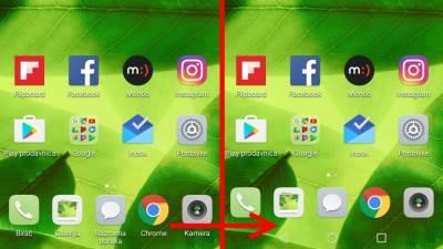 Huawei P10 Senzor otiska prsta upravljanje Android funkcijama nema Android tastera
