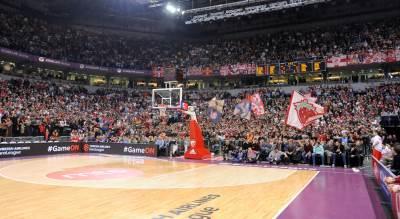 KK Crvena zvezda navijači Delije Arena