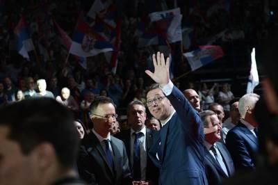 sns miting, aleksandar vučić, arena, izbori, predsednički izbori