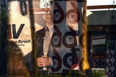 vučić, izbori 2017, plakati, posteri, ulični plakati
