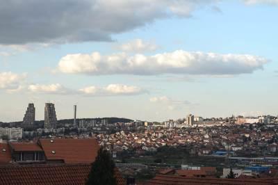 oblaci, oblak, oblačno, beograd, konjarnik, panorama, grad, istočna kapija beograda