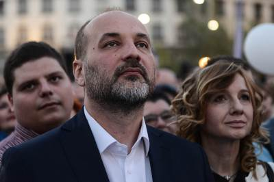saša janković, miting, izbori 2017, trg republike,