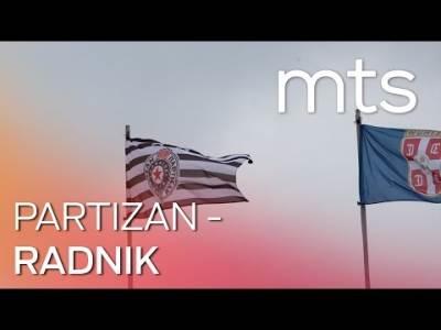 Partizan - Radnik (mts ugao)