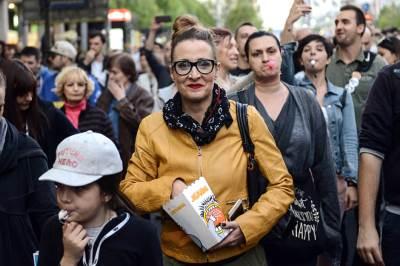 tatjana vojtehovski, protesti protiv diktature, protiv diktature, protest, protesti,