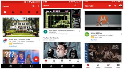 YouTube, JuTjub, Android, Aplikacije, YOuTube aplikacije