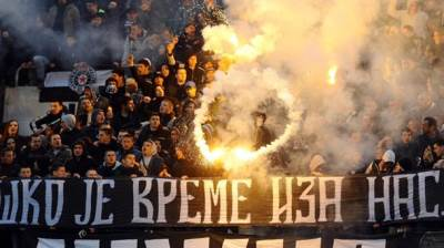 Navijači Partizana Grobari