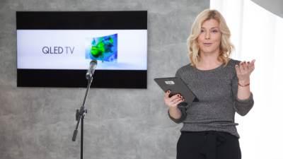 QLED, TV, Samsung QLED, Nataša Miljković