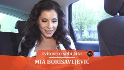 Mia Borisavljević, tvitovi, mondo tv