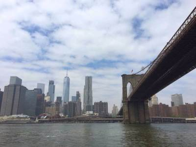 njujork, most, reka
