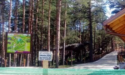 zlatibor, park, avantura park