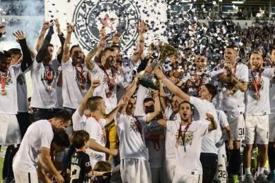 partizan, kup, finale, proslava, navijači, grobari, kup srbije, crvena zvezda