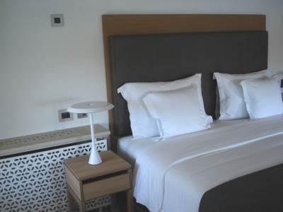 krevet, kreveti, soba, hotel