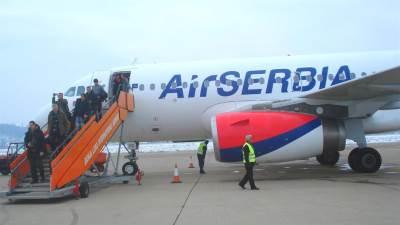 avion, er srbija, letenje