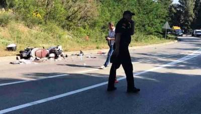 udes nesreća motocikl motociklista saobraćajka