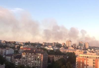 požar u vinči, dim, zagađenje, vazuh